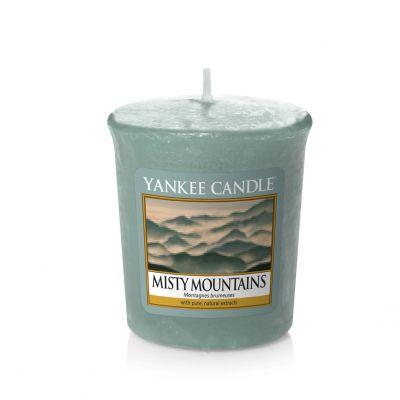 Moccolo profumato yankee candle misty mountains