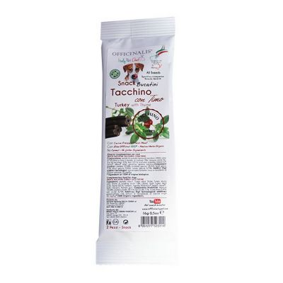 Snack bucatini per cane gr.16