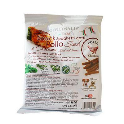 Snack pollo sugo speck/curcuma