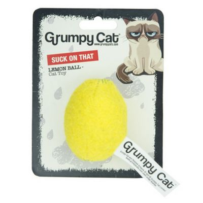 Grumpy cat lemon balls suck