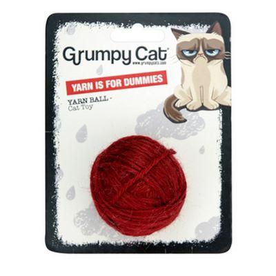 Grumpy cat palla di lana