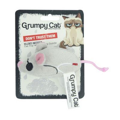 Grumpy cat blind mice