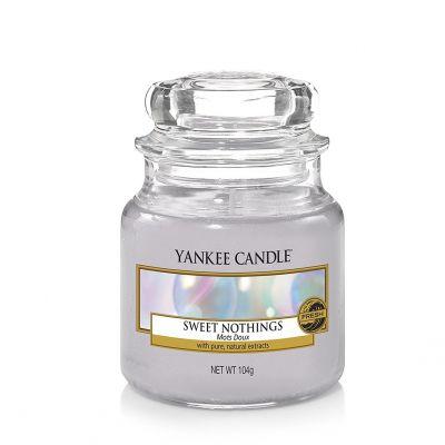 Giara profumata yankee candle sweet nothings piccola