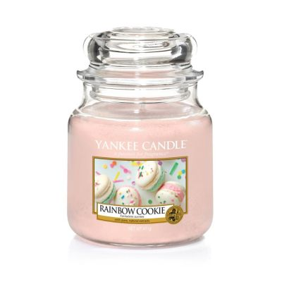 Giara profumata yankee candle rainbow cookie media