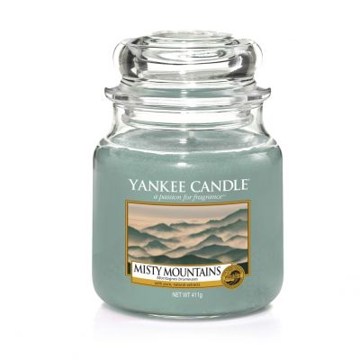 Giara profumata yankee candle misty mountains media