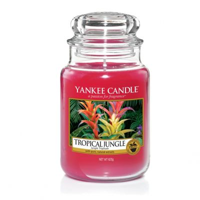 Giara profumata yankee candle tropical jungle grande