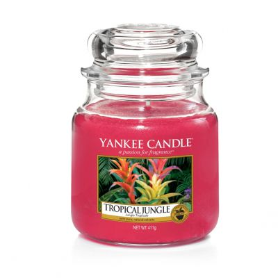 Giara profumata yankee candle tropical jungle media