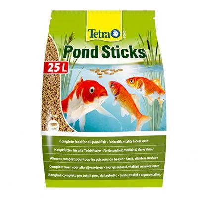 Mangime per pesci tetra pond sticks 25 litri