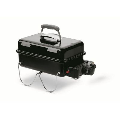 Barbecue a gas go anywhere black