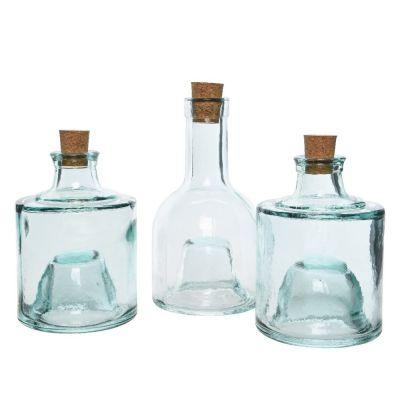 Set vetro riciclato impilabile