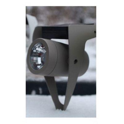 Power spot 50 lumen acciaio tortora
