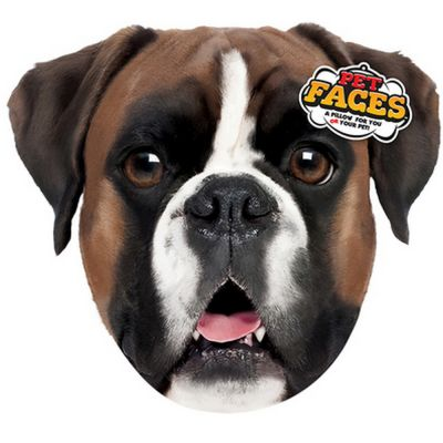 Pet faces boxer