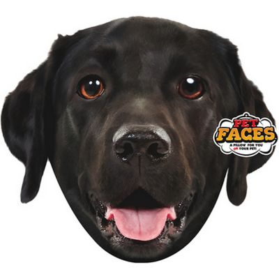 Pet faces labrador nero