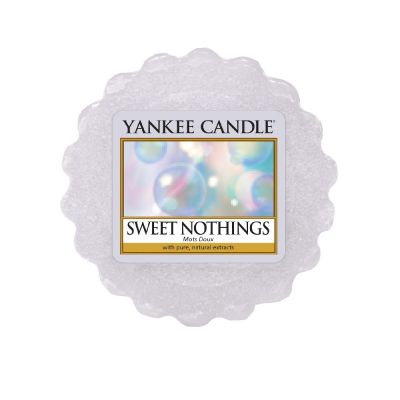 Tartina profumata yankee candle sweet nothings