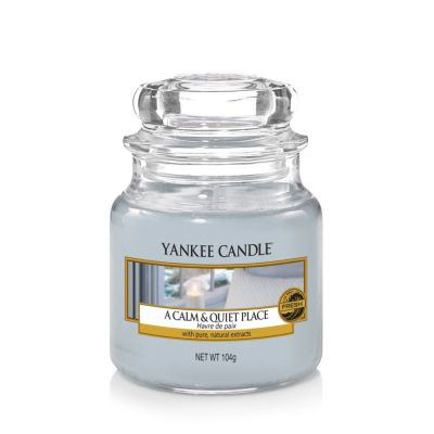 Giara profumata yankee candle a calm and quiet place piccola