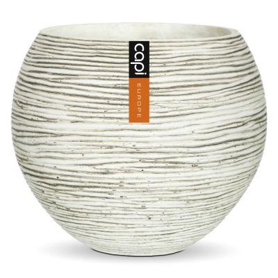 Vase ball ivory