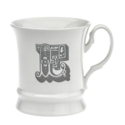 Letter mug e