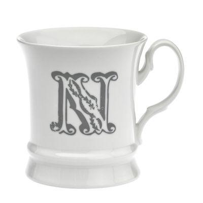 Letter mug n