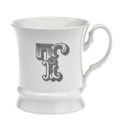 Letter mug t