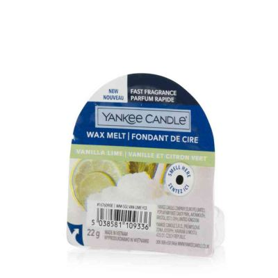 Wax melt vanilla lime