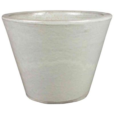Vaso saigon Bianco in ceramica 34 x 26cm