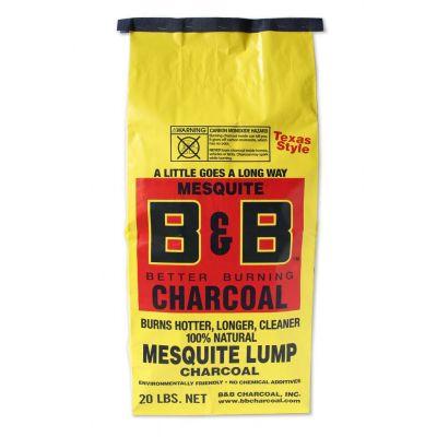 Mesquite lump charcoal