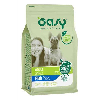 Oasy dry dog adult sm pesce