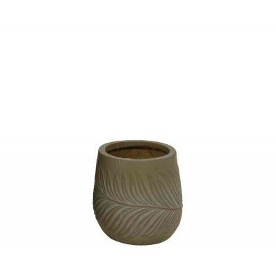 Vaso fibre clay cm. 44x44