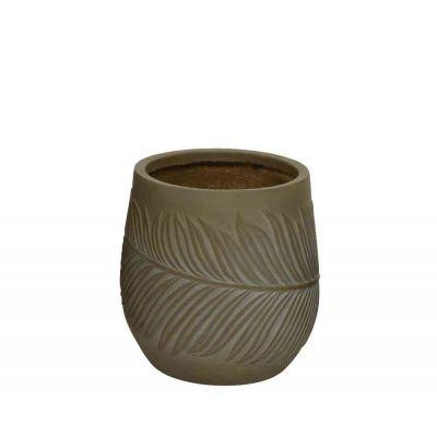 Vaso fibre clay cm. 32x32