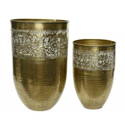 vaso ferro cm. 21x32