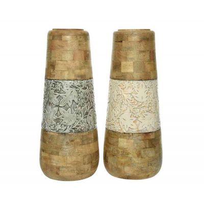 vaso mangowood Ø25x60cm