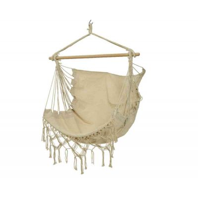 Amaca a sedia in cotone crema