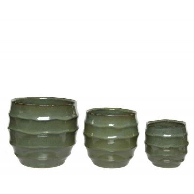 Vaso in pietra Ø18.5x16.5cm