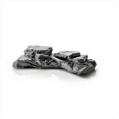 Rocce blocco a grigio