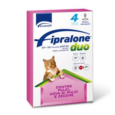 Fipralone duo spot on gatto