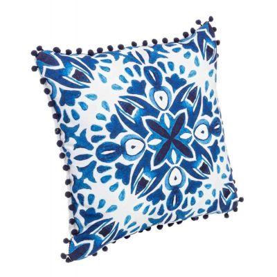Cuscino corinto bia-blu