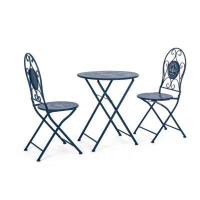 Set Bistrot Pacific Tavolo e 2 sedie pieghevoli