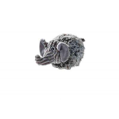 Gioco cane plush pori grigio