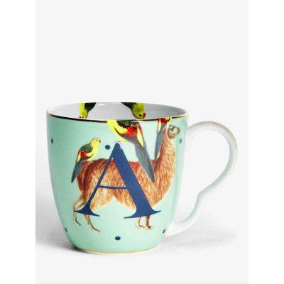 Alphabet mug  alpaca