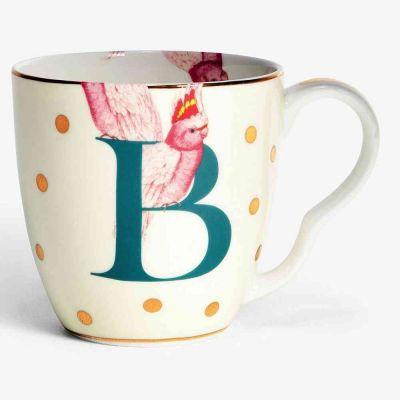 Alphabet mug  bird