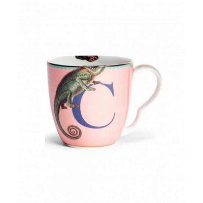 Alphabet mug  chameleon