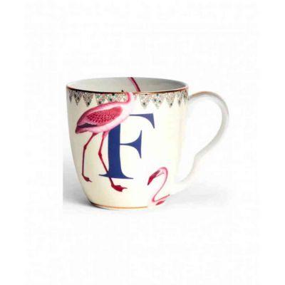 Alphabet mug  flamingo