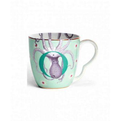 Alphabet mug  octopuss