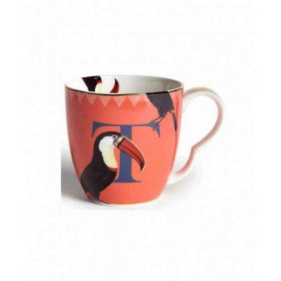 Alphabet mug toocan