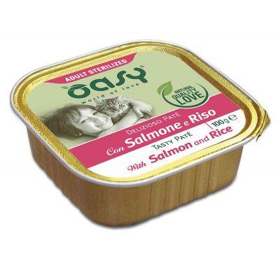 Oasy wet cat patÈ salmone str