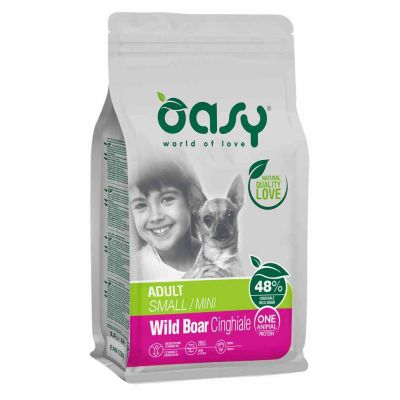 Oasy dry dog s/m cinghiale