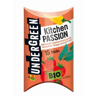 Concime in bastoncini per ortaggi piccoli frutti aromatiche Kitchen Passion