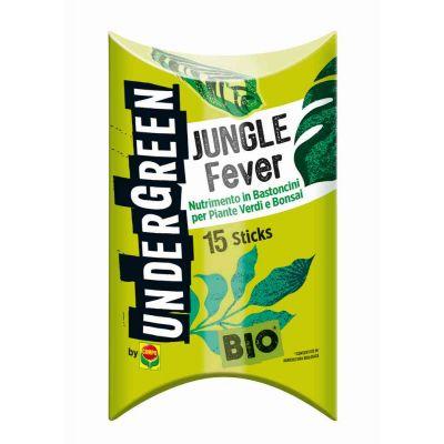 Concime in bastoncini per piante verdi e Bonsai Undergreen Jungle Fever