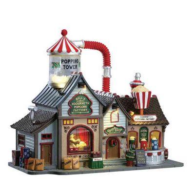 Bell's gourmet popcorn factory Lemax fabbrica di pop corn 75188