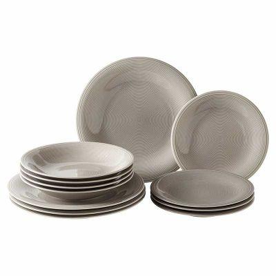 Color loop stone Servizio di piatti 12 pezzi